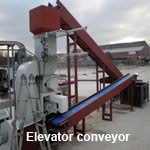 Elevator conveyor. Courtesy of CMJ Installations
